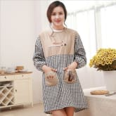 Kitchen Dining Room Cooking Waterproof And Oil Proof Overclothes Long Sleeve Aprons 905195