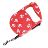 Retractable Traction Rope For Dog Cat (Red)