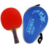 Yinhe 06B (06 B, 06-B) Pips-In Shakehand Table Tennis Racket + a Paddle Bag-(FL)