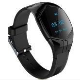 Heart rate monitor wristband, fitness tracker, activity tracker, sport tracker (Black)