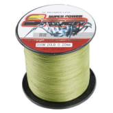 4 strands 300M 20LB fishing line spider multifilament PE braided fish line armygreen