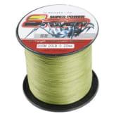 4 strands 300M 20LB fishing line spider multifilament PE braided fish line armygreen
