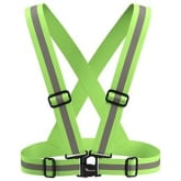 Travelwey Safety Gear Reflective Vest High Visiblilty Day And Night for all Outdoor Activities