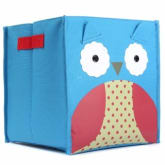 Oem Foldable Nursery Decor Animal Storage Boxes Children's Toys Storage Box Pouch OWL (Intl)