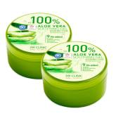 3w Clinic 3W CLINIC 100% Aloe Vera 300g Soothing Gel x 2