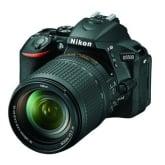 Nikon D5500 Black 24.1 Megapixel Digital SLR Camera With 18-140mm VR Lens