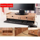 Homebuddy HomeBuddy Wooden Desktop Organizer (DOD)-with drawer (Woody)
