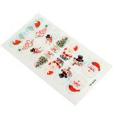 Oem Nail Art Natale Babbo Stickers Unghie Tips Christmas Adesivi YB-Q158(Export)(Intl)