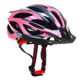 Joylivecy Wind Resistant Mountain Bicycle Cycling Helmet Visor Adjustable Bike Road Pink + Grey(Export)(Intl)