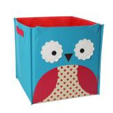 Vococal Kids Cartoon Animals Canvas Folding Toy Storage Box Bin Organizer Owl (Intl)