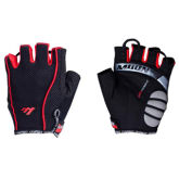 Moon GoSport  ST-GV1-B Riding gloves and a half refers to the mountain bike gloves Unisex Size XL (Red)