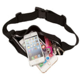 Running Sport Waist Bag Phone Cases for iPhone 6 Black 5.3 S