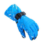 Rainbow Dropshipping New men's ski gloves Snowboard gloves Snowmobile Motorcycle Riding winter gloves Windproof Waterproof snow gloves-green print (Intl)