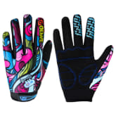 Cycling Bicycle Motocross Full Finger Touchscreen Gloves Winter Warm L (Intl)