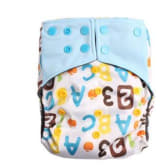 Love My Baby Reusable Cloth Diapers A55 – 6-33lbs Light Blue