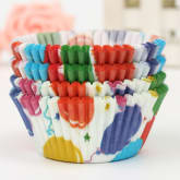 Oem 100Pcs Colorful Paper Cake Chocolate Liner Baking Muffin Cup Wrappers