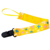 8years Pacifier Clip With Butterfly Pattern (EXPORT)