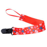 8years Pacifier Clip with Butterfly Ribbon Holder (EXPORT) - Intl
