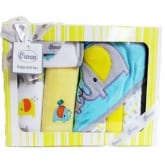 Owen Baby Gift Set. 7 Pcs Gift Set for up to 6 months. Yellow Shade