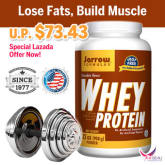Jarrow Formulas Whey Protein 908g Chocolate Flavor Quality Assured!