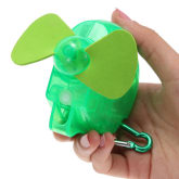 Oem New Mini Portable Electric Water Spray Cooling Fan Mist Sport Beach Camp Travel (Green)(Export)(Intl)