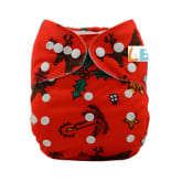 Lbb LBB Baby Resuable Cloth Pocket Diaper Reindeer for Christmas