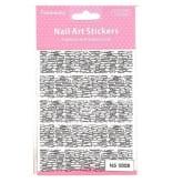 Oem Nail Art Stickers Full Coversticker, Fashion Design- Curvy