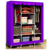 King Size Multifunctional Wardrobe - Purple (Intl)