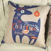 Home Decor Pillow Cover Xmas Merry Christmas/Santa Claus/Deer Cushion Cases New(Export)(Intl)