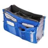 Oem Jo.In Women Travel Insert Handbag Organiser Purse Large liner Organizer Tidy Bag Pouch (Blue)