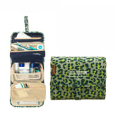 Portable Folding Travel Toiletry Hanging Wash Bag Ladies Make Up Cosmetic Bags Organiser (Intl)