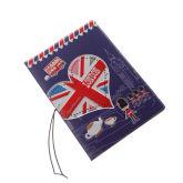 London Blue Pattern Passport Holder(Export)(Intl)