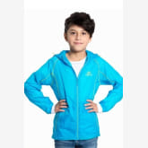 Tectop Outdoor Sun Protection Windproof Children Boy Hiking Skin Jackets Kids Quick Dry Summer Long Sleeve Coat (Blue)(Export)(Intl)