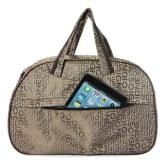 OEM Printed Duffle Bag Tote Overnight Gym Sport Travel Luggage Suitcase Khaki(Export)(Intl)