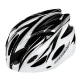 Basecamp BASECAMP 18 Vents Unisex Cycling Helmet Ultralight Size 56-62cm Adult (black/white)