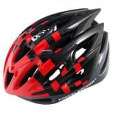Doppelganger DH005 Cycling Helmet (Black/Red)