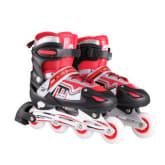 BD PU Full Flash Children Inline Skates Red (Intl)