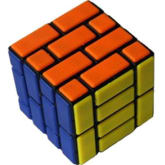 LT365 Cube Twist CT 4x4x4 Wall Cube Magic Cube 60mm - Black Body (Difficulty 8 of 10) (Intl)