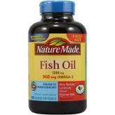 Nature Made Fish Oil 1200mg, 180 Liquid Softgels