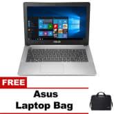 Asus X455LA-WX414T 4GB Intel Core i3-4005U 14