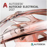 Autodesk AutoCAD Electrical 2017 Commercial New Single-user ELD Subscription with Basic Support