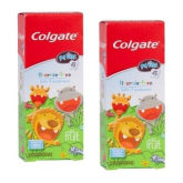 Colgate My First - Infant & Toddler Mild Fruit Fluoride-Free Toothpaste, 1.75-Ounce Box (Pack of 2)