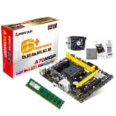 Biostar A70MGP Motherboard with AMD A4 6300 Dual Core Processor and 2GB DDR3 Memory Bundle