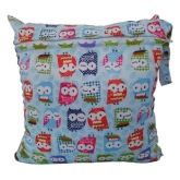 Cocotina Reusable Baby Cloth Diaper Bag Travel Outdoor Nappy Storage Zipper Pouch - Pattern 3 (Intl)
