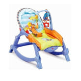 Fisher Price New Newborn to Toddler Rocker (Blue/Orange)