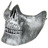 Glamorous Skull Skeleton Airsoft Paintball Half Face Protective Mask (Intl)