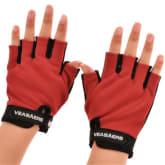Gosport GoSport Unisex Fitness Sports Gym Training Exercise Multifunction Gloves for Men and Women (Red)