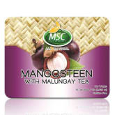 Msc Food Products MSC FOOD PRODUCTS Mangosteen with Malunggay Tea (Caffeine Free) 15g