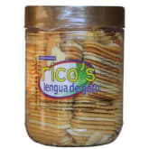 Unbranded Rico's Lengua De Gato (Clear Brown)