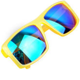 Joylivecy Bicycle Men Women'S Cycling Protective Goggle Sunglasses Eyewear Riding Sports Yellow Frame&Green Film (Intl)
